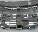 Decorated Chrome Plated Plastic
